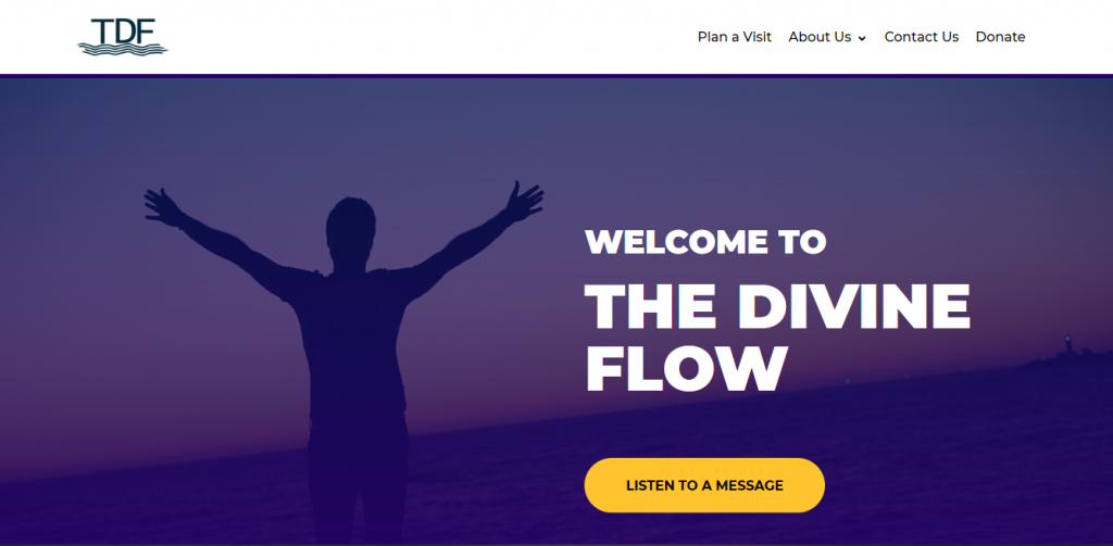 The Divine Flow Church Sample Website