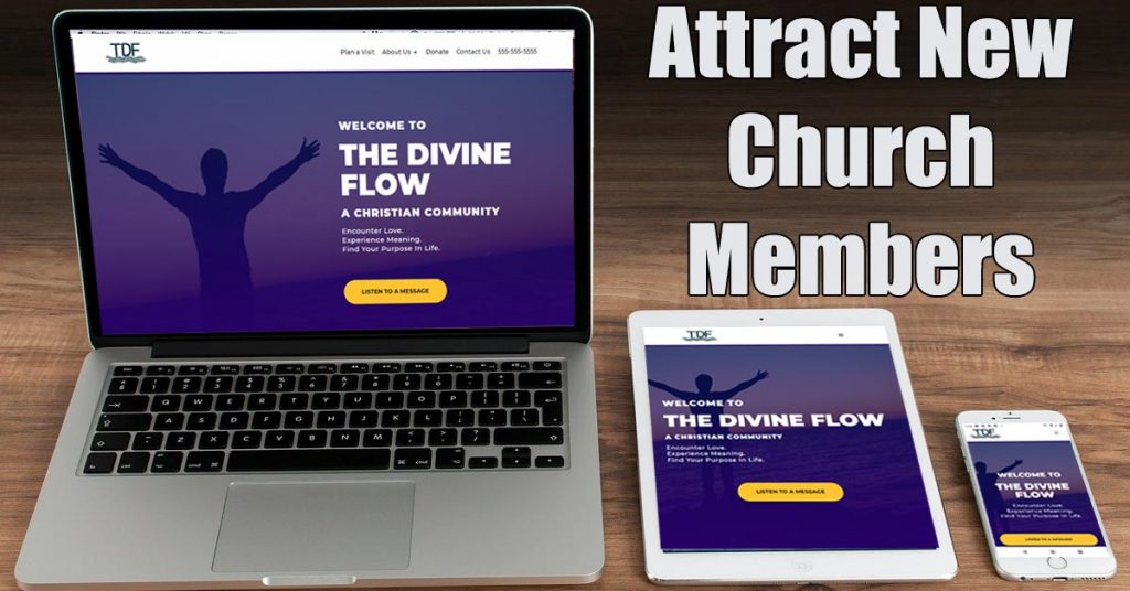 Attract Church Members - Church Website